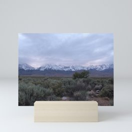Eastern Sierras at Sunset Mini Art Print