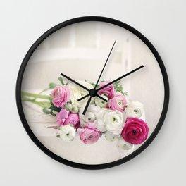 Playful Petals Wall Clock