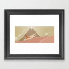 Travelling Framed Art Print