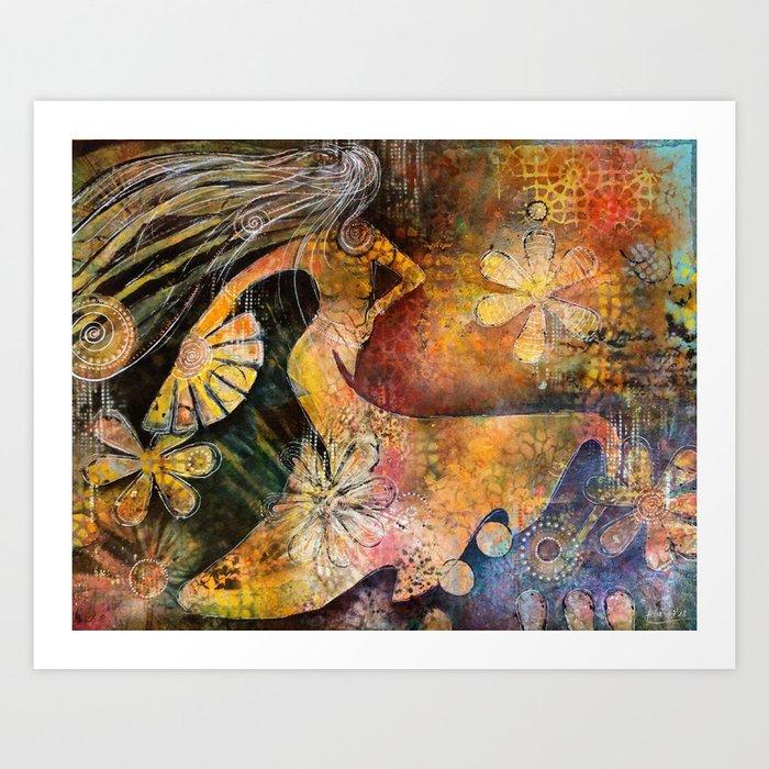 Joy of life Art Print