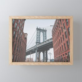 Dumbo Brooklyn New York City Framed Mini Art Print