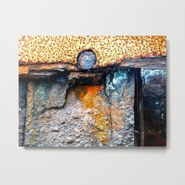 meEtIng wiTh IrOn no20 Metal Print