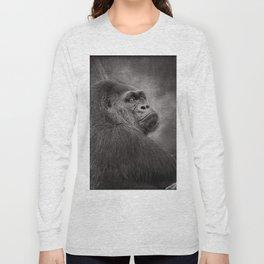 Gorilla. Silverback. BN Long Sleeve T-shirt