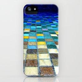 Blue Tiles iPhone Case