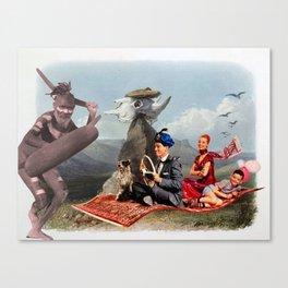 Super Magic Pile Canvas Print