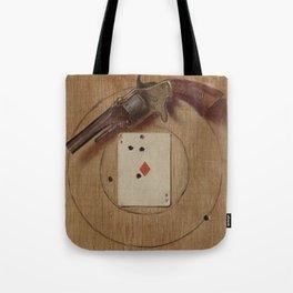Pistol and Ace by De Scott Evans Tote Bag