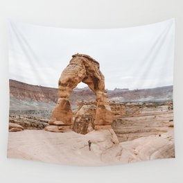 Early Morning at Delicate Arch Wall Tapestry