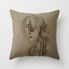 Speak up I can't hair you Throw Pillow