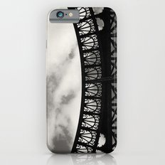 Black Lace of Eiffel Tower iPhone 6s Slim Case