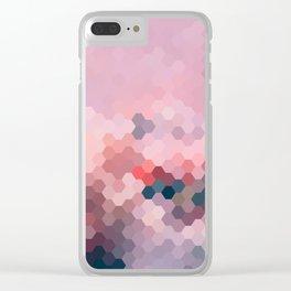 PINKY MINKY Clear iPhone Case