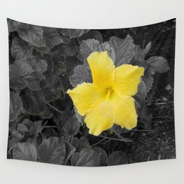 A Touch of Yellow Wall Tapestry