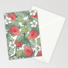 The Strawberry Patch Stationery Cards