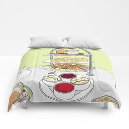 English Afternoon Tea Comforters