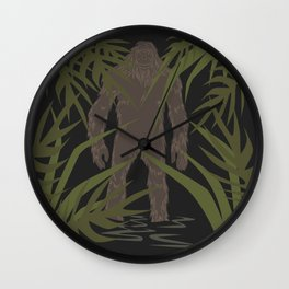 Skunk Ape Wall Clock