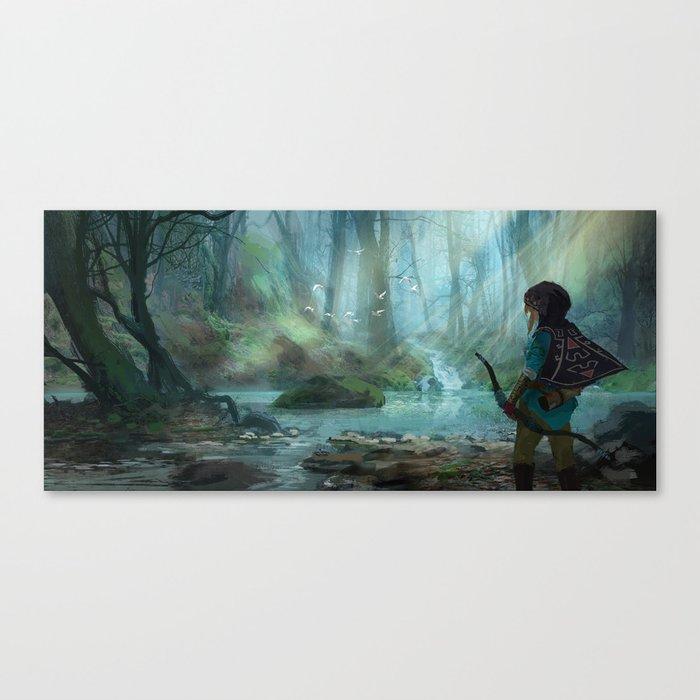 Zelda 2015  Canvas Print