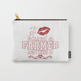 I kissed a FARMER Carry-All Pouch