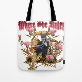 Desiree: Victorian Flower Series, Where She Rules Tote Bag