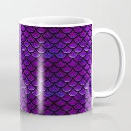 Purple & Blue Mermaid Scales Coffee Mug