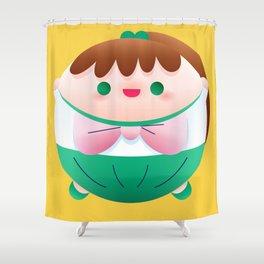 Too Much Candy Series - Sailer Jupiter Shower Curtain