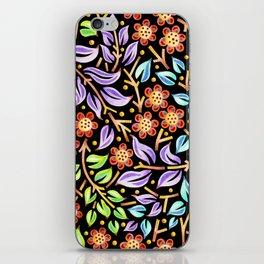 Filigree Flora iPhone Skin