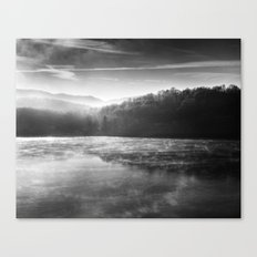 Morning Lake Canvas Print