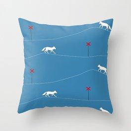 NY FJÄLLRÄV Throw Pillow