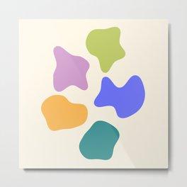 Fruity Pebbles Metal Print