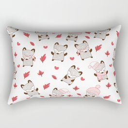 Winter Fox Rectangular Pillow