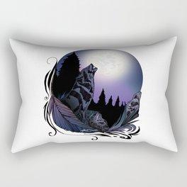 Howling Wolf (Signature Design) Rectangular Pillow