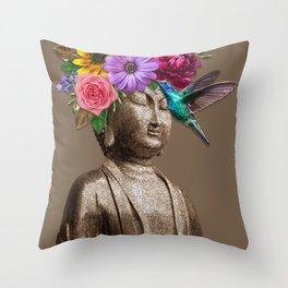 Sidarta gold Throw Pillow