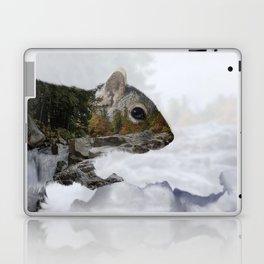 Waterfall Squirrel Laptop & iPad Skin