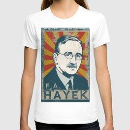Friedrich August von Hayek T-shirt