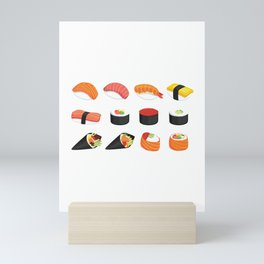 I Love Sushi Mini Art Print