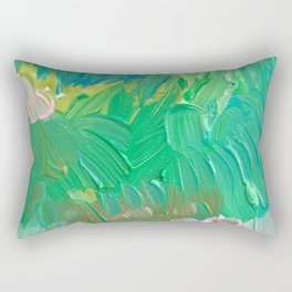 Enchanted Garden Rectangular Pillow