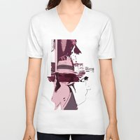 holiday V-neck T-shirts featuring Holiday by Paola Rassu