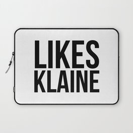 Likes Klaine Laptop Sleeve