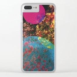 Cosmic Love Clear iPhone Case