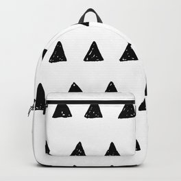 Aztec minimal triangles Backpack