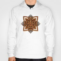 art deco Hoodies featuring Art Deco Brooch by Lyle Hatch