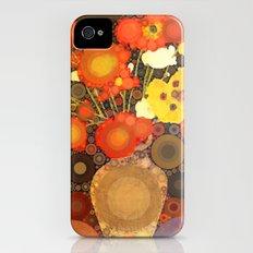 Gramma's Flowers Slim Case iPhone (4, 4s)