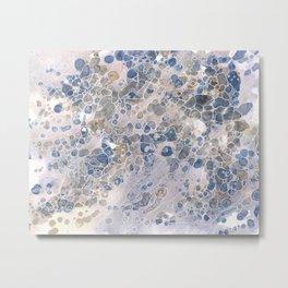 Pebbles in the Creek #2 Metal Print