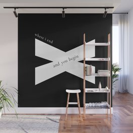 Where I End and You Begin Wall Mural
