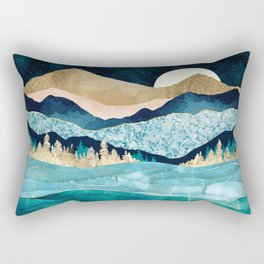 Midnight Ocean Rectangular Pillow