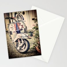 Vintage Moped Stationery Cards