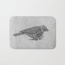 Clockwork Bird  Bath Mat
