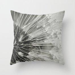 steely Throw Pillow