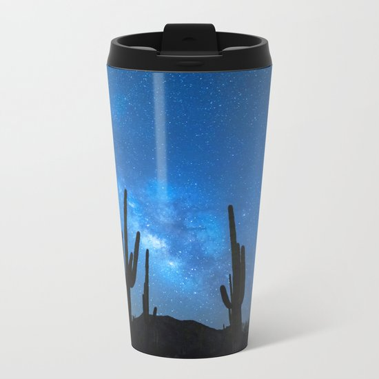 Cacti Milky Way Metal Travel Mug