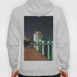 White Tower of Thessaloniki Hoody