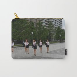 Japanese high school students Carry-All Pouch