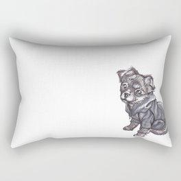 Hooded Cuteness Rectangular Pillow